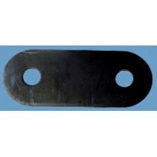 Щека серьга передней рессоры ЗИЛ 5301-2902466 (8 мм)